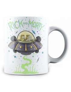 Taza Space Ship Rick and Morty
