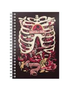Cuaderno A5 Anatomy Park Rick and Morty