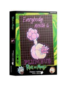 Puzzle Plumbus Rick and Morty 1000pzs