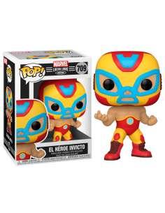 Figura POP Marvel Luchadores Iron Man El Heroe Invicto