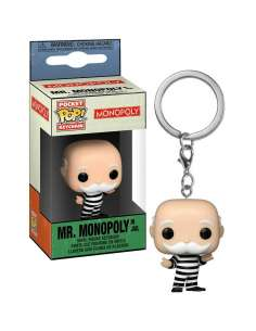 Llavero Pocket POP Monopoly Criminal Uncle Pennybags