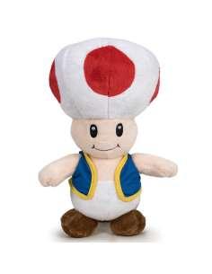 Peluche Toad Super Mario Bros soft 26cm