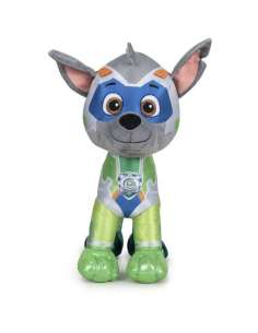 Peluche Rocky Super Paws Patrulla Canina Paw Patrol 37cm