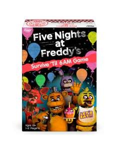 Juego mesa Ingles Five Nights at Freddy s Survive Til 6AM Game