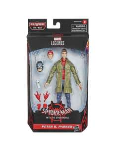 Figura Peter B Parker Spiderman Into the Spider Verse Marvel 15cm