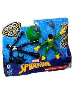 Set 2 figuras Bend and Flex Spiderman vs Doc Ock Marvel 15cm