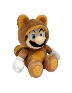 Peluche Super Mario Tanooki