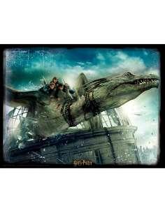 Puzzle lenticular Dragon Harry Potter 500pzs