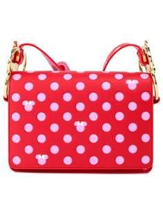 Bolso bandolera Pink Polka Dot Minnie Disney Loungefly