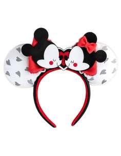 Diadema orejas Mickey and Minnie Love Disney Loungefly
