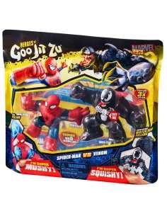 Pack 2 figuras Spiderman and Venom Marvel Heroes Goo Jit Zu