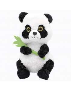 Peluche Oso Panda Hoja 41cm
