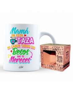 Taza Mama Todos Los Besos Que Te Mereces