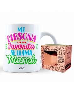 Taza Mi Persona Favorita Se Llama Mama