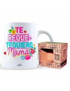 Taza Te Requetequiero Mama