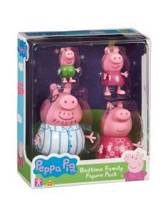 Set 4 figuras familia Peppa Pig