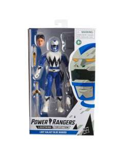 Figura Lost Galaxy Blue Ranger Power Rangers 15cm