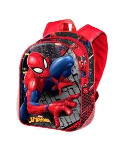 Mochila 3D Wall Spiderman Marvel 31cm
