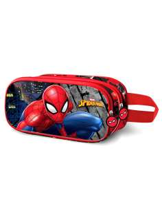 Portatodo 3D Wall Spiderman Marvel doble