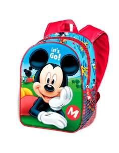 Mochila 3D Lets Go Mickey Disney 31cm