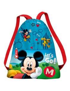Saco Lets Go Mickey Disney 31cm