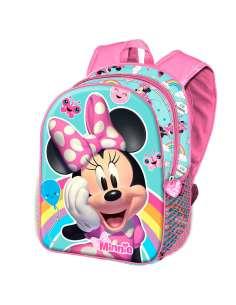 Mochila 3D Rainbow Minnie Disney 31cm