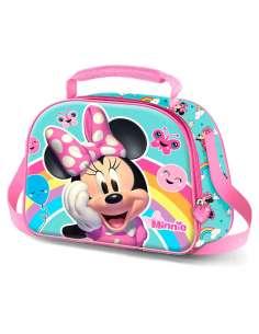 Bolsa portameriendas 3D Rainbow Minnie Disney