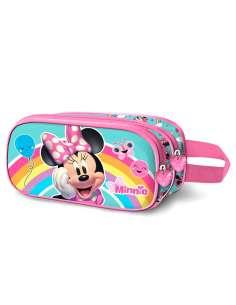Portatodo 3D Rainbow Minnie Disney doble