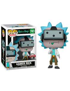 Figura POP Rick and Morty Gamer Rick Exclusive