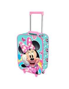 Trolley 3D Rainbow Minnie Disney 47cm