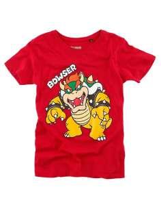 Camiseta Kids Bowser Super Mario Nintendo