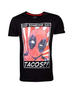 Camiseta Tacos Deadpool Marvel