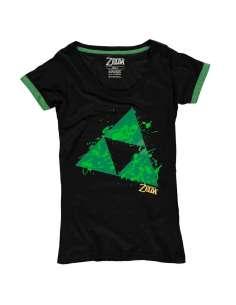 Camiseta mujer Triforce Splatter Zelda Nintendo