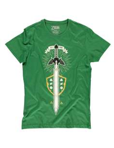 Camiseta The Master Sword Zelda Nintendo