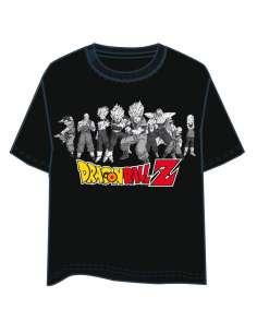 Camiseta Personajes Dragon Ball Z adulto