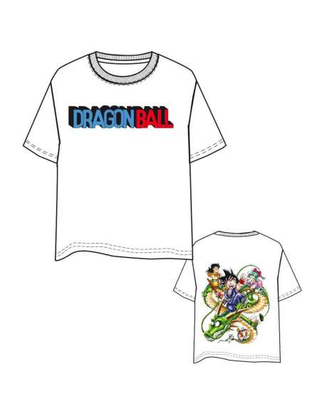Camiseta Characters Dragon Ball adulto
