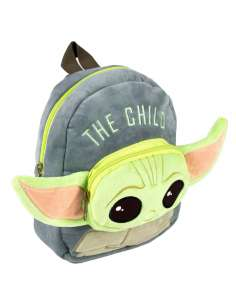 Mochila peluche Yoda Child The Mandalorian Star Wars 22cm