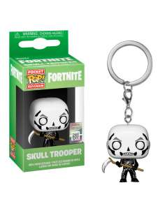 Llavero Pocket POP Fortnite Skull Trooper