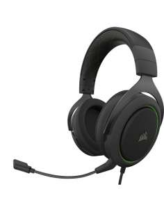 AURICULARES GAMING CORSAIR HS50 PRO STEREO VERDE