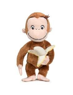 Peluche Curious George Banana soft 18cm