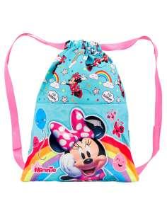 Saco Rainbow Minnie Disney 31cm