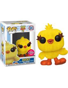 Figura POP Disney Toy Story 4 Ducky Flocked Exclusive