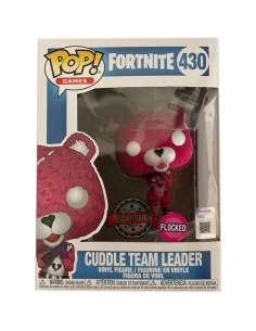 Figura POP Fortnite Cuddle Team Leader Flocked Exclusive