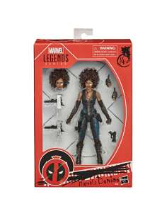 Figura Marvels Domino Marvel Legends Series 15cm