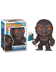 Figura POP Godzilla Vs Kong Kong with Axe