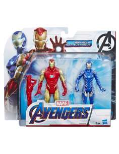 Set figuras Iron Man y Marvels Rescue Vengadores Avengers Marvel
