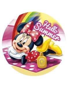 Toalla redonda Minnie Disney