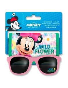 Set gafas de sol billetera Minnie Disney