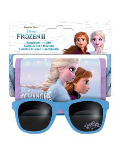 Set gafas de sol billetera Frozen 2 Disney