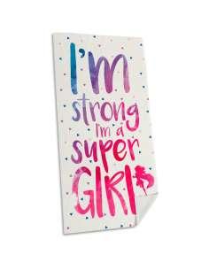 Toalla Im Super Girl